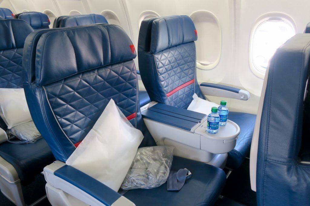 Delta Business Class seats