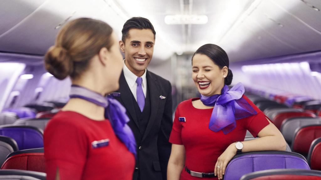 Virgin cabin crew
