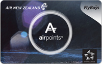 Air New Zealand Airpoints standard card