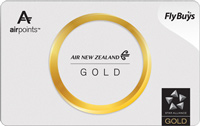 Air New Zealand Airpoints gold card