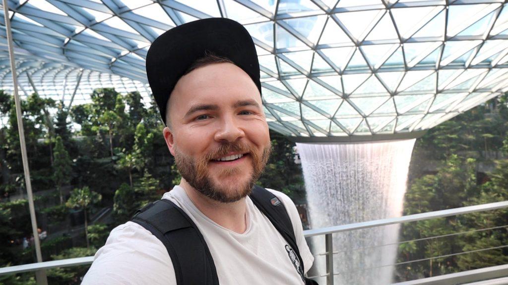 Bradley John at the Jewel Changi Airport Singapore - 2