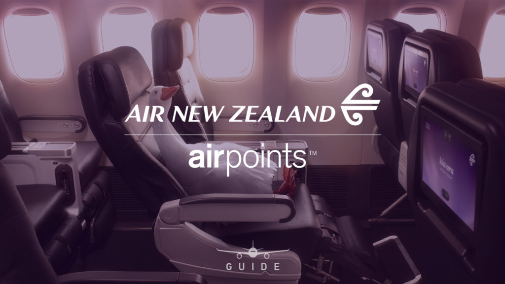 Everything you need to know to get started with Air New Zealand Airpoints