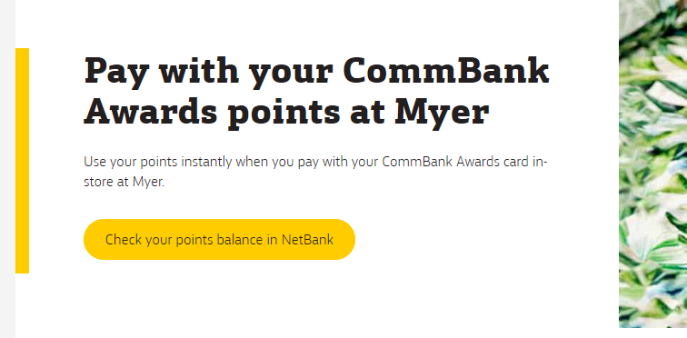 Commbank Awards - Myer