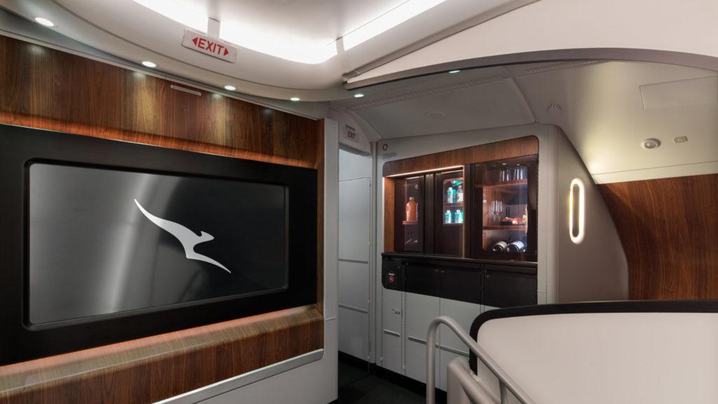 Qantas A380 Lounge