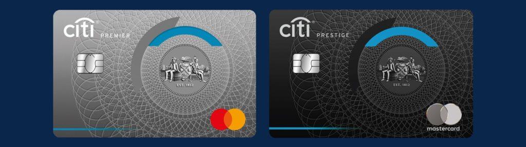 Citi Premier and Prestige Cards