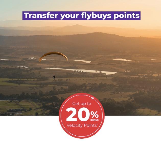 flybuys-Velocity transfer
