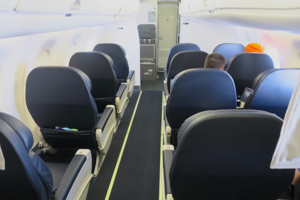 Alaska Airlines Business Class