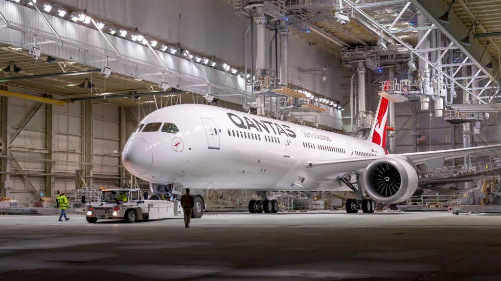 Qantas repatriation flights this month