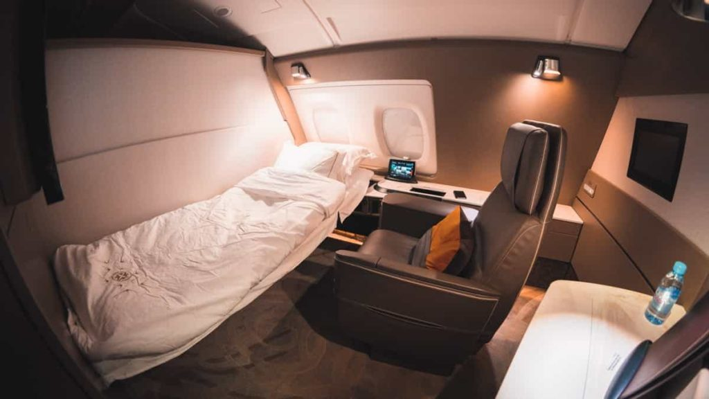 How to recreate a First Class experience at home
