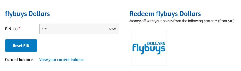 flybuys dollars