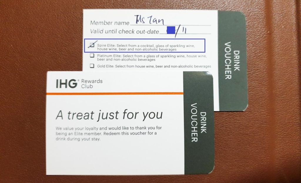 IHG Rewards Spire Elite Status