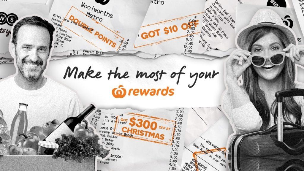 Redeeming Woolworths Rewards
