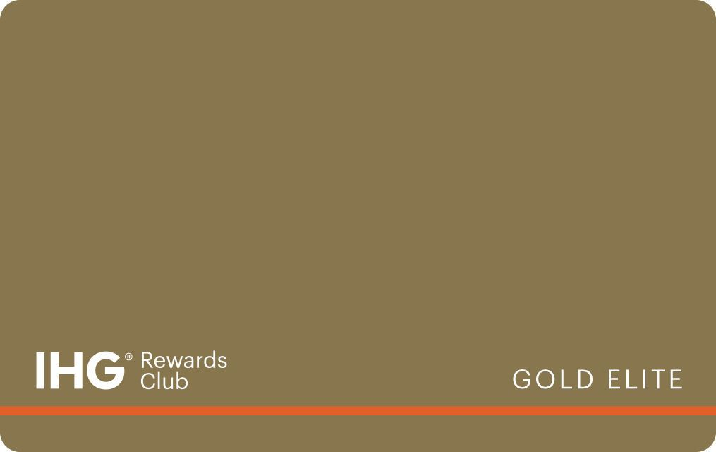 IHG Gold Elite card