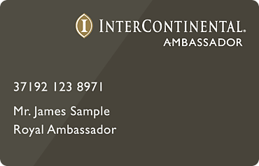 IHG Intercontinental Ambassador