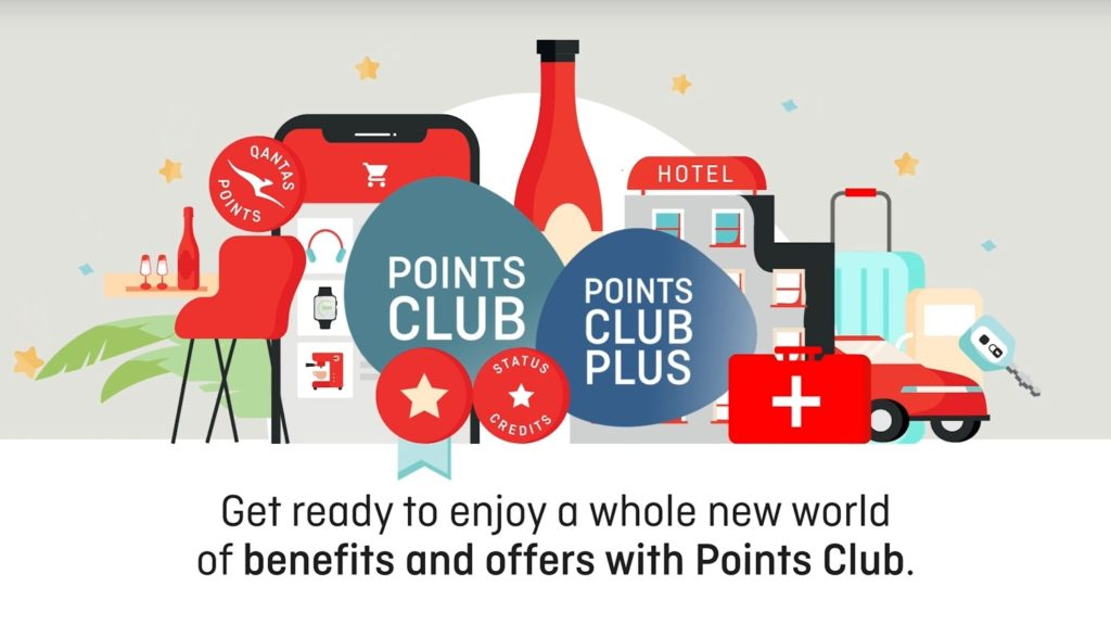 Qantas Points Club and Points Club Plus
