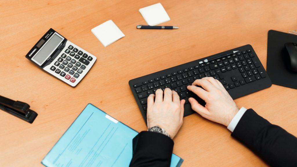 Calculator and keyboard