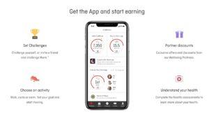 Earn bonus Qantas Points through the Qantas Wellbeing App