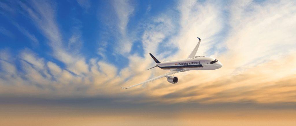 Singapore Airlines plane
