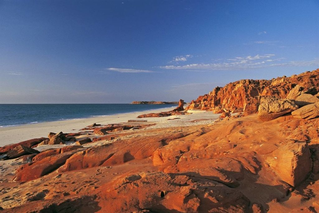 A beach in Broome
