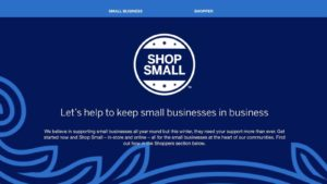 American Express Shop Small Offer is back offering credit back on purchases with eligible small business