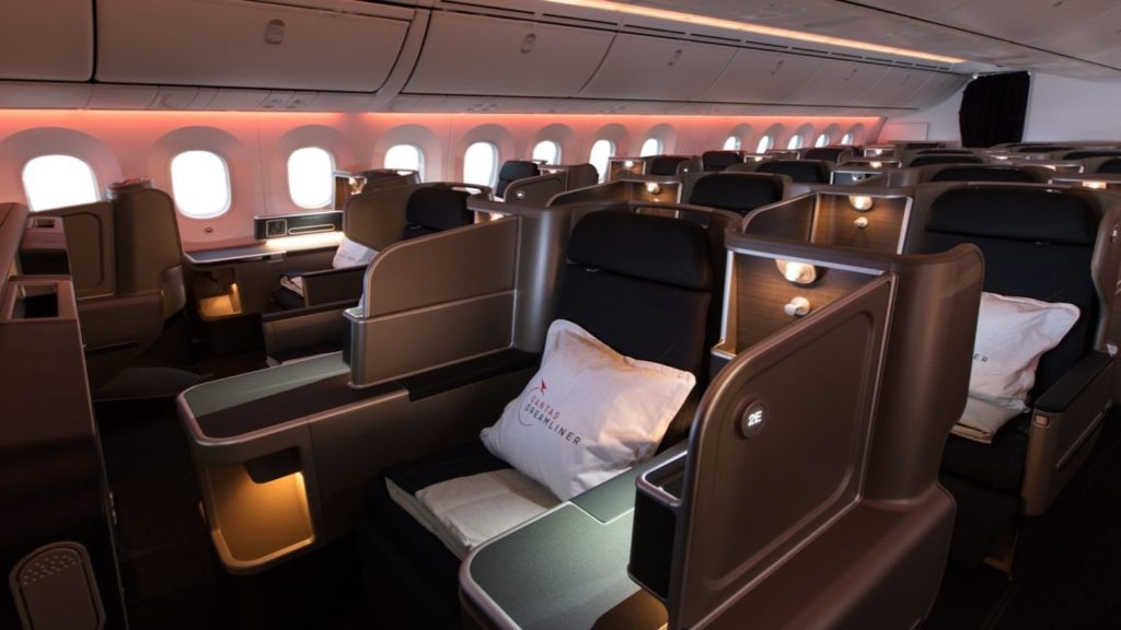 Qantas Business Suite