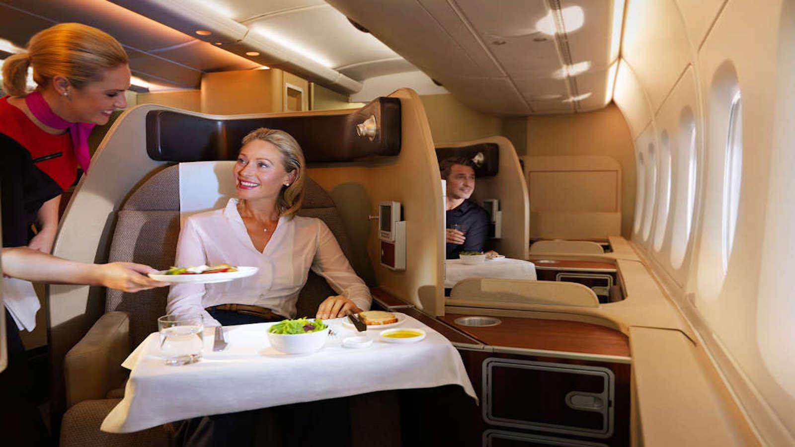 Qantas First Suite A380