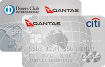Diners Club Frequent Flyer + World Mastercard