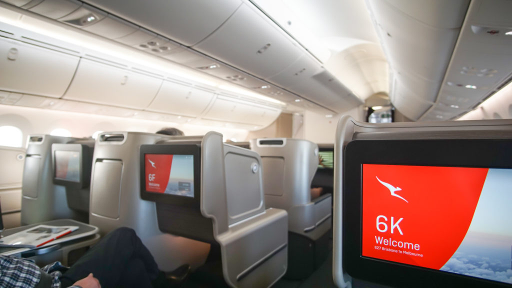 Qantas Boeing 787 Business Class
