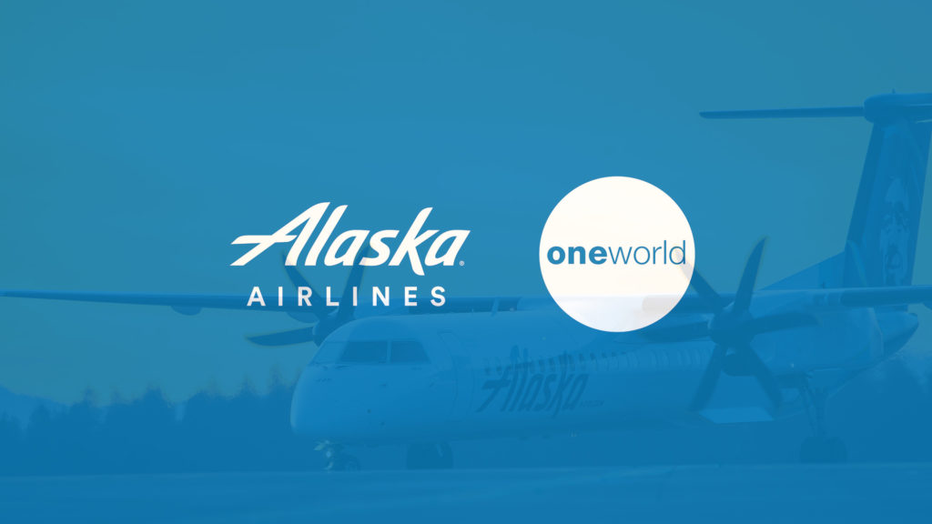 Alaska Airlines will soon be part of oneworld.