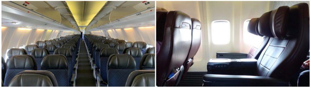 Qantas A330 Economy Class