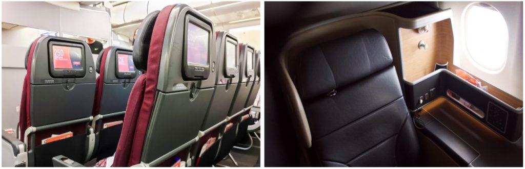 Qantas 737 Economy Class