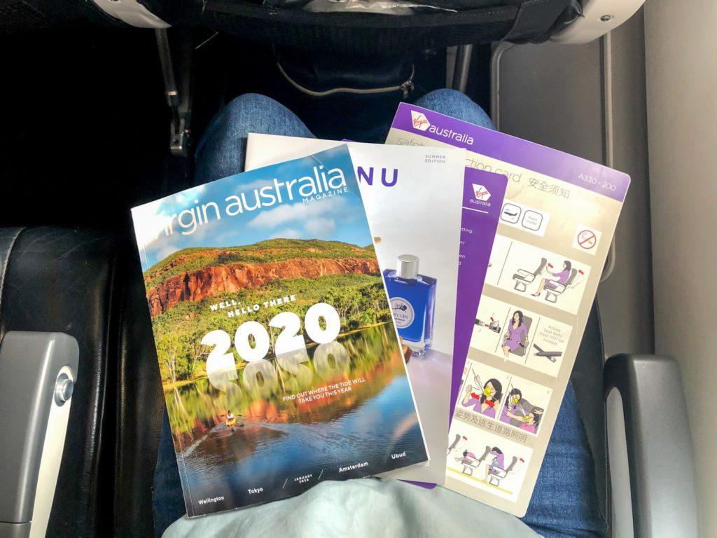 Virgin Australia A330 Economy - Voyeur Magazine
