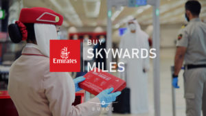 How to buy Emirates Skywards miles at a discount