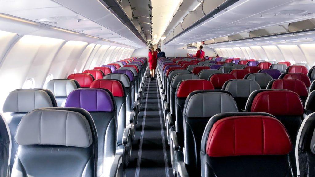 Virgin Australia A330 Economy Cabin