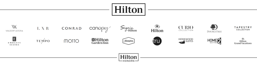 Hilton Honor brands