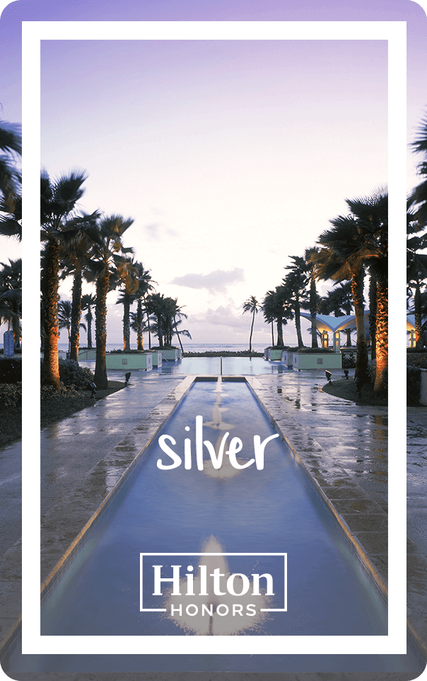 Hilton Silver Card