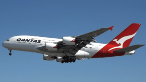 Qantas profit drops by 91% during 'the most challenging period in its long history'