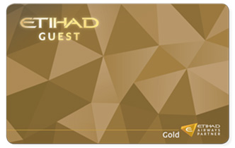 Etihad Gold Tier Card