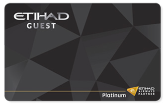 Etihad Platinum Tier Card