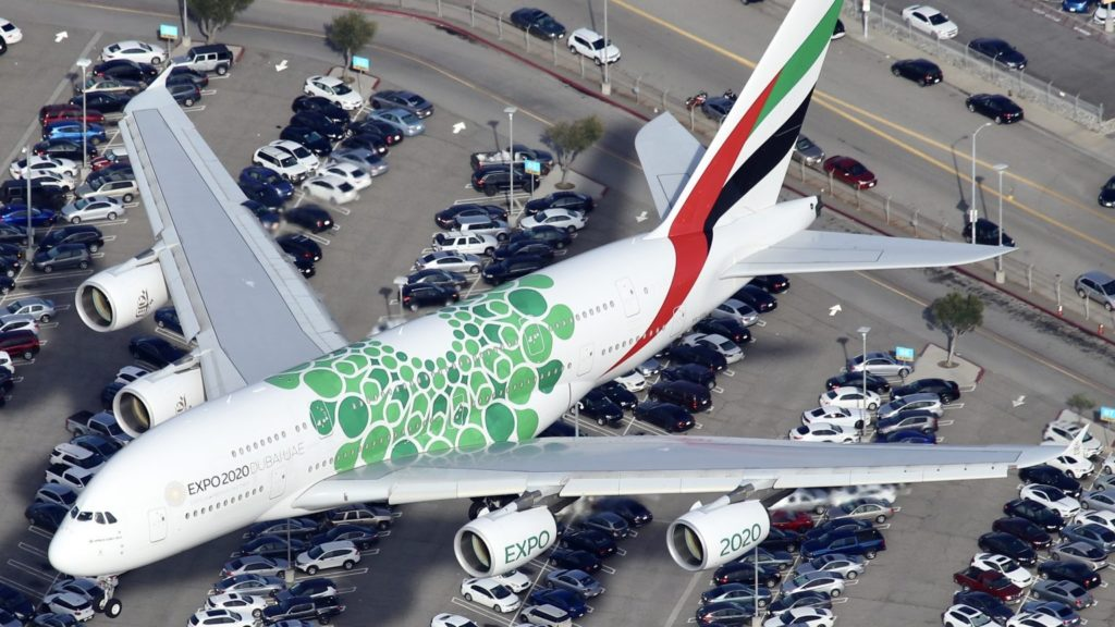 Emirates Boeing A380