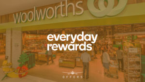 The latest bonus points promotions from Everyday Rewards