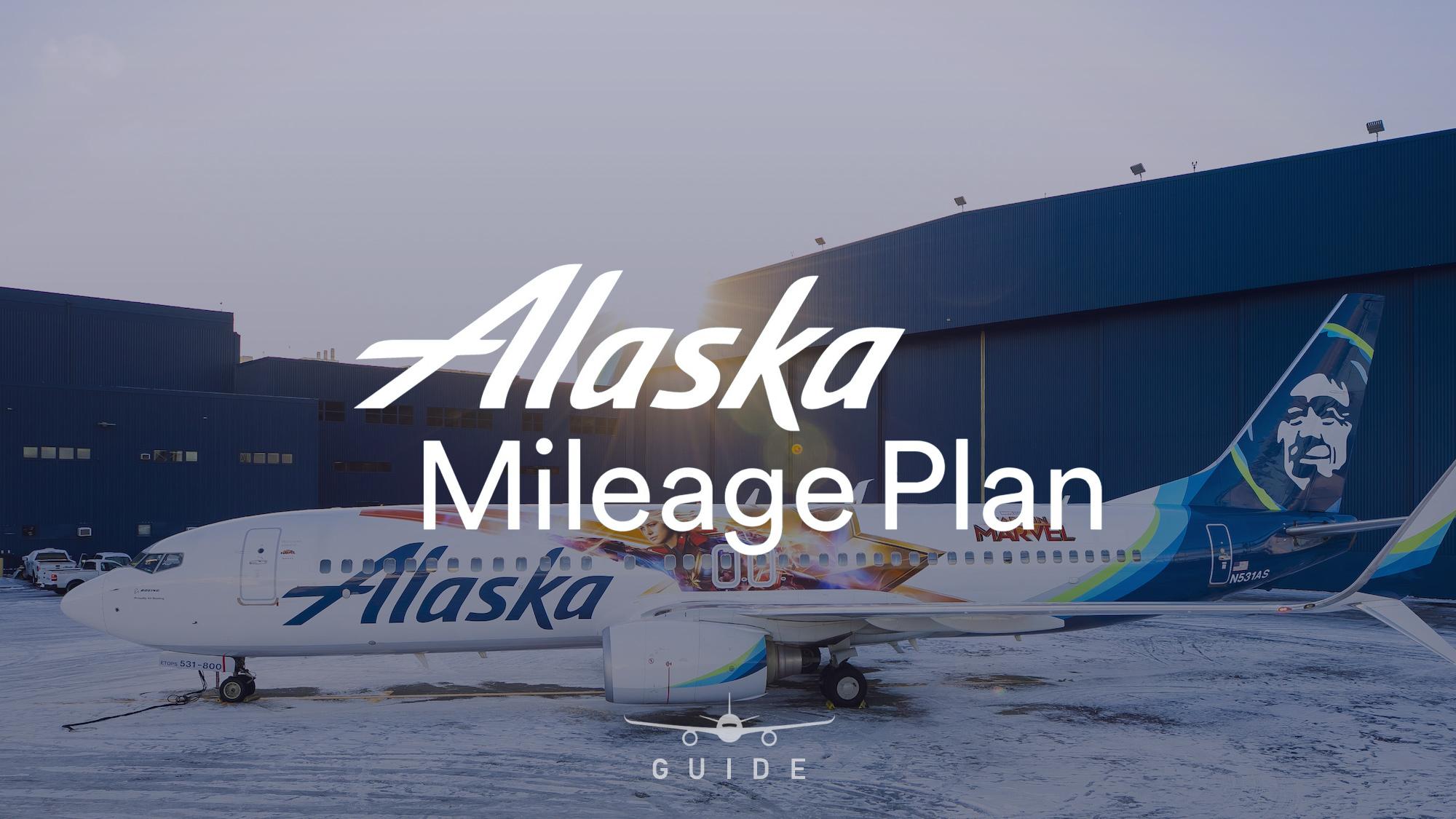 Alaska Plane tail