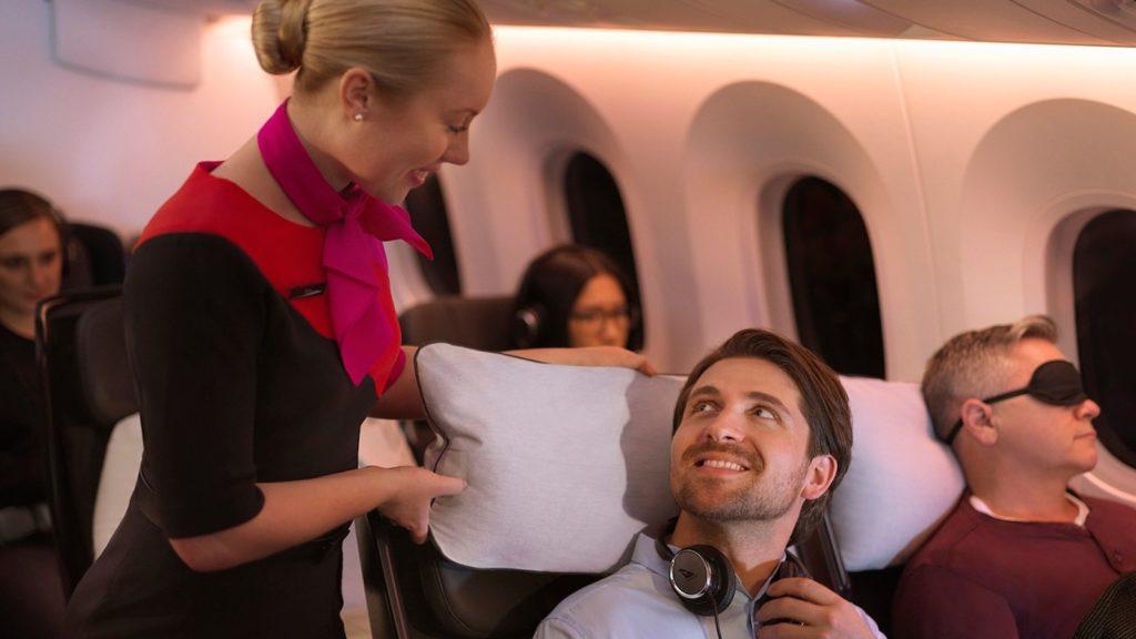 Qantas Economy