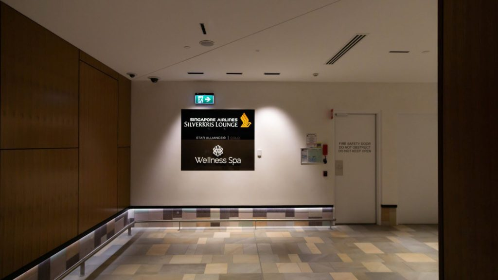 Singapore Airlines SilverKris Lounge Brisbane location