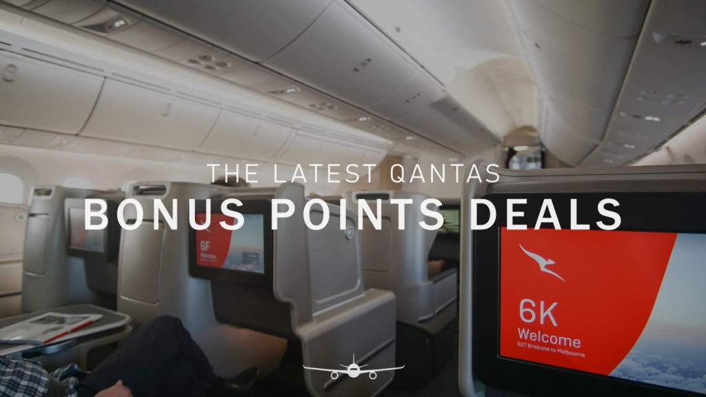 Bonus Qantas Points Deals
