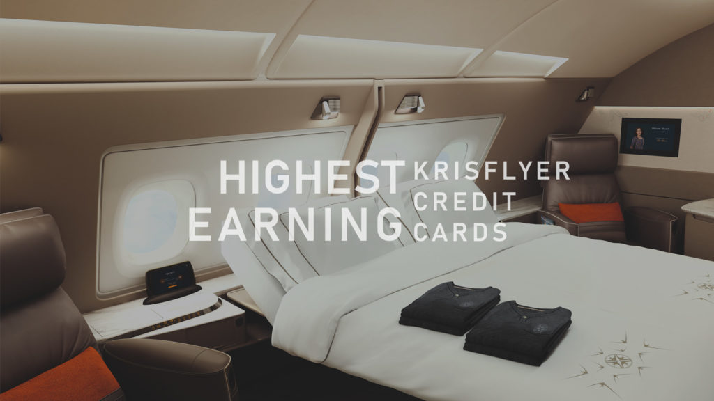 Best KrisFlyer cards