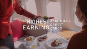 What is the best credit card for Asia Miles?