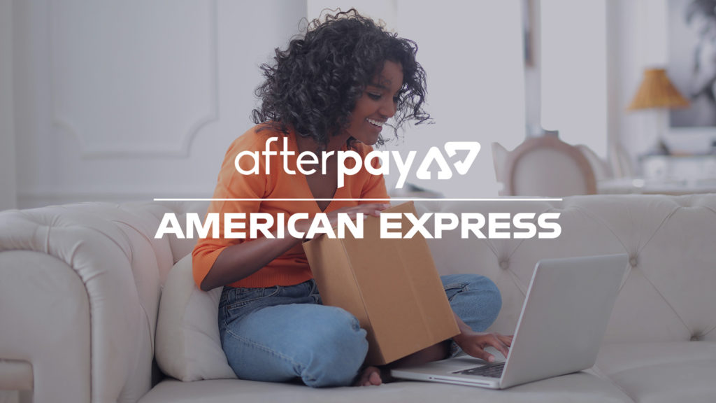 You can now use AfterPay with American Express.