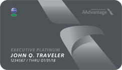 AAdvantage Executive Platinum Card