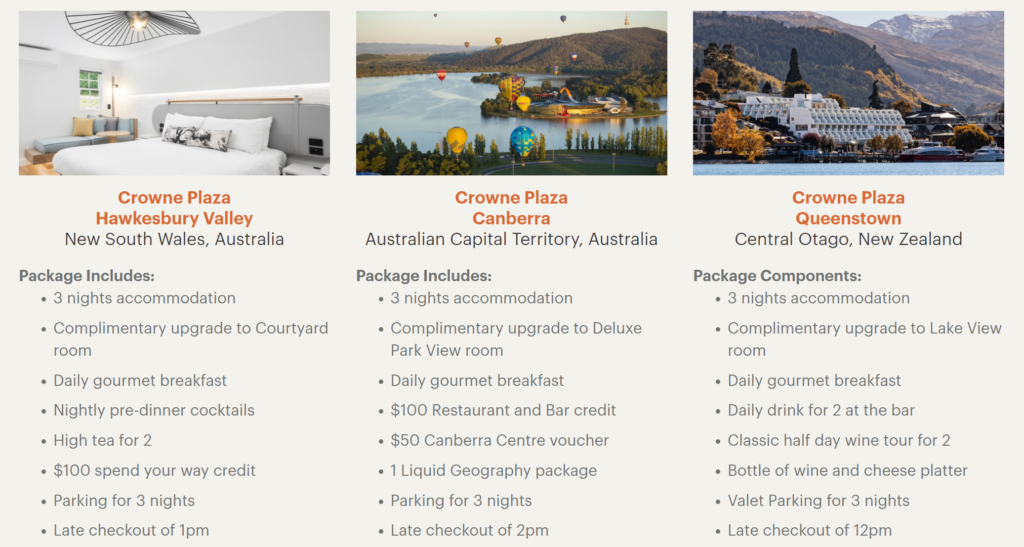 IHG Packages